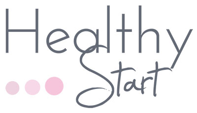 Logo healty start by clairepon