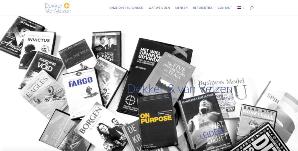 Website Dekker van Velzen