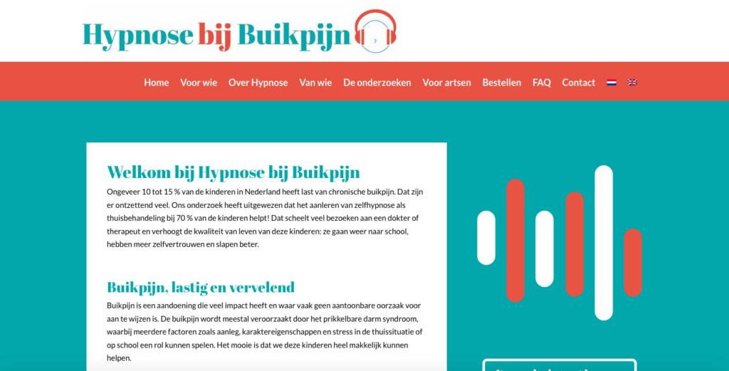 website hypnose bij buikpijn