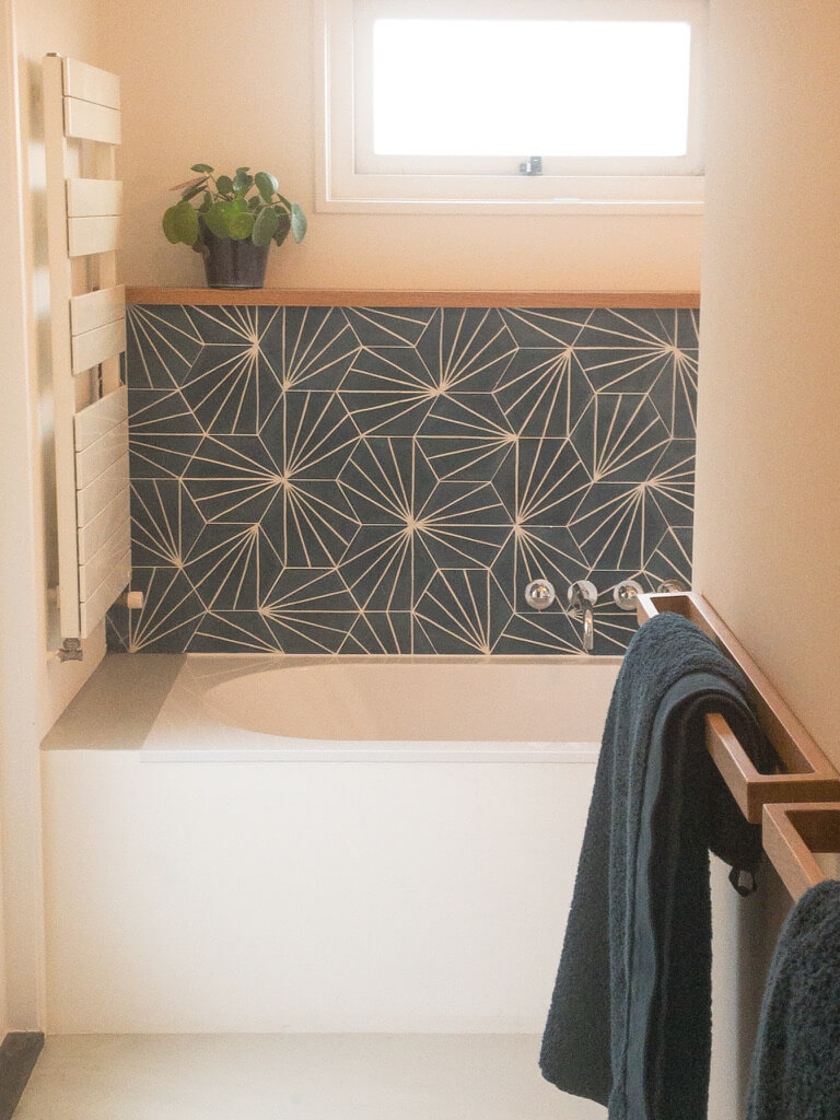 Badkamer ontwerp familiehuis